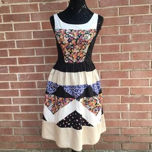 Leifnotes Patchwork Dress